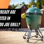 How grease is collected in Kamado Joe Grill?