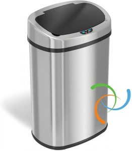 iTouchless Best 13 Gallon Touchless Trash Can